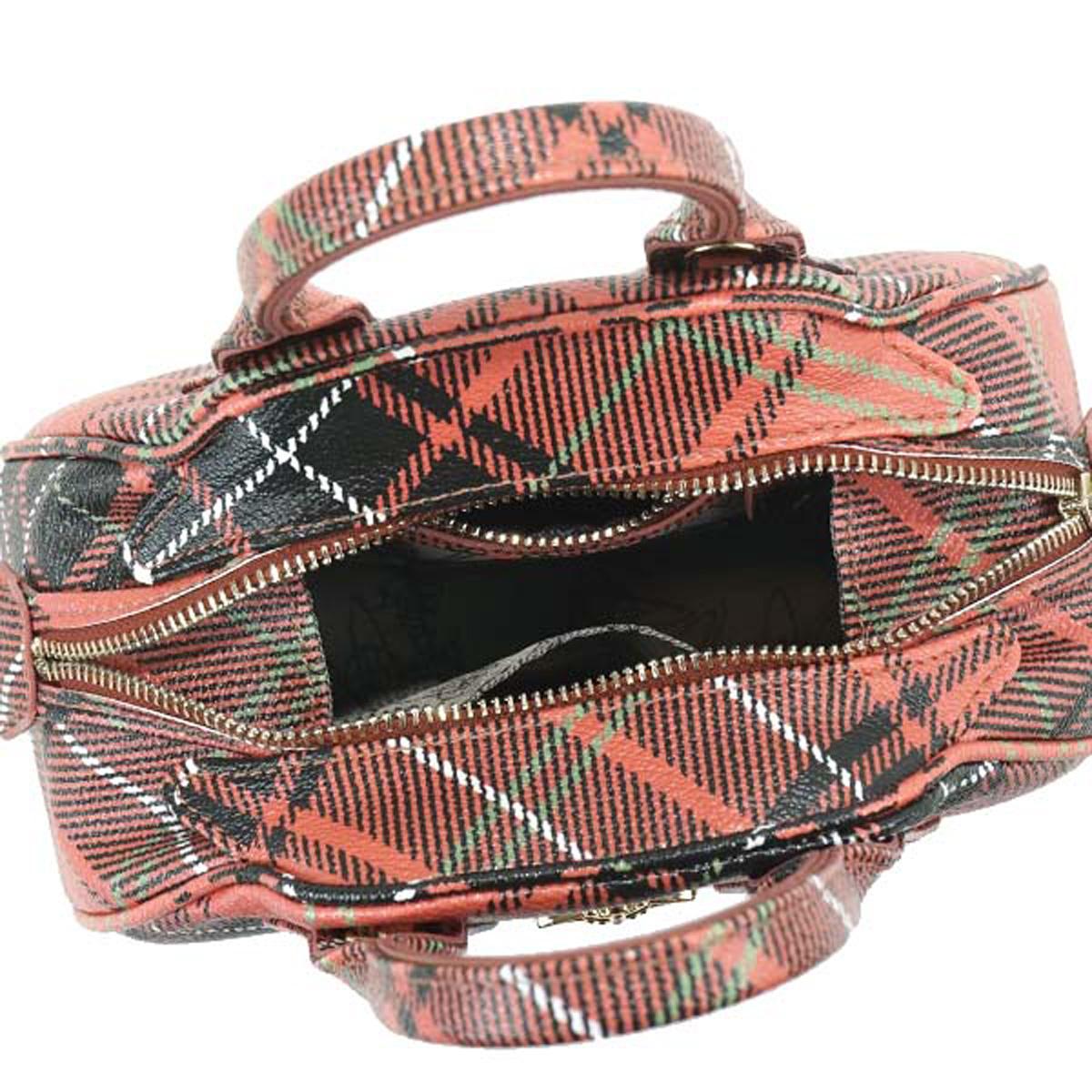 79c92213a3 ... It is shoulder bag CHARLOTTE red system tartan checked pattern at Vivien  waist Wood Vivienne Westwood ...