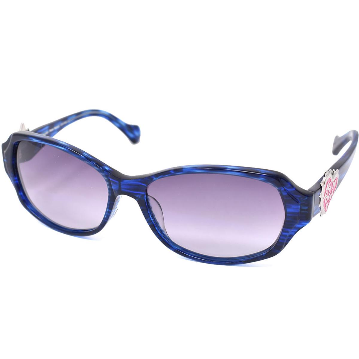 ヴィヴィアンウエストウッド Vivienne Westwood 7743 LI サングラス アジアンフィット メンズ レディース ブルー系
