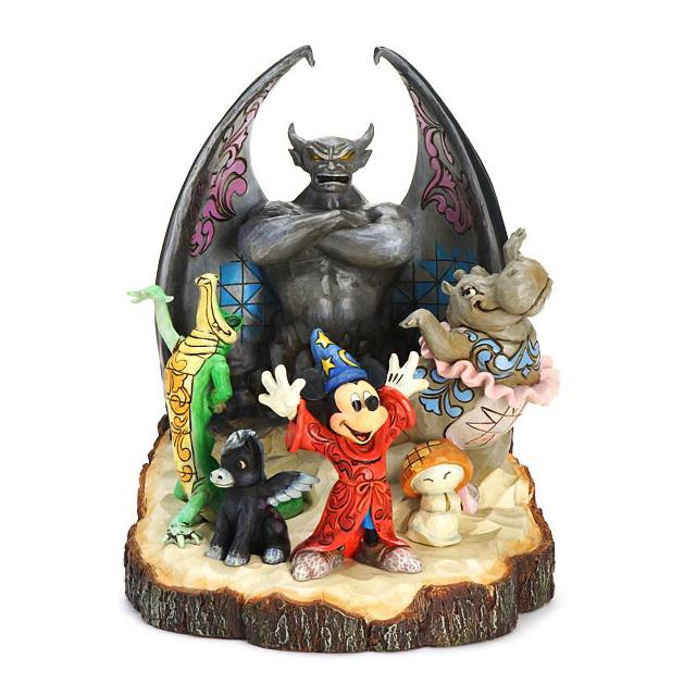 1872e2cdb ディズニー・トラディション Disney Traditions ファンタジア・ミッキーマウス CARVED BY HEART FANTASIA