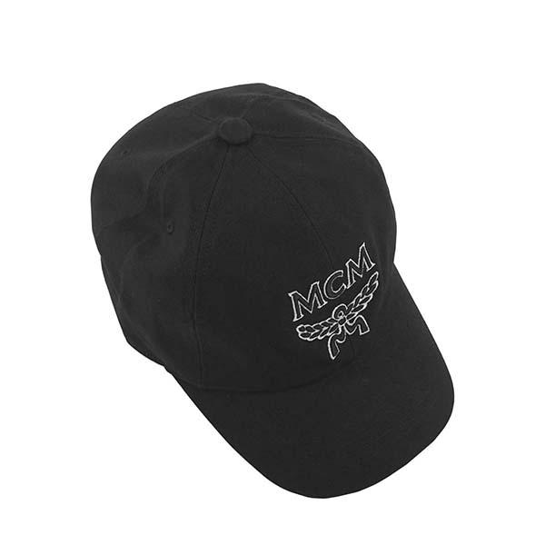 エムシーエム MCM キャップ ベースボールキャップ 帽子 MEC9S2K02 001 メンズ レディース BLACK ブラック