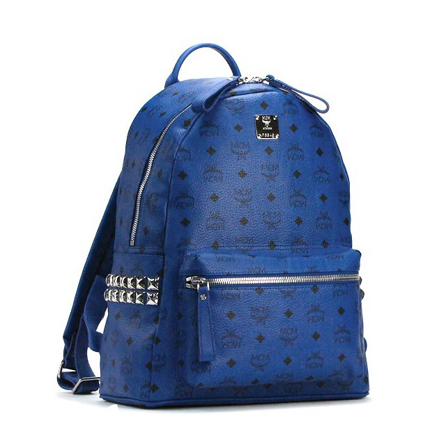 MCM Backpack Bag Blue