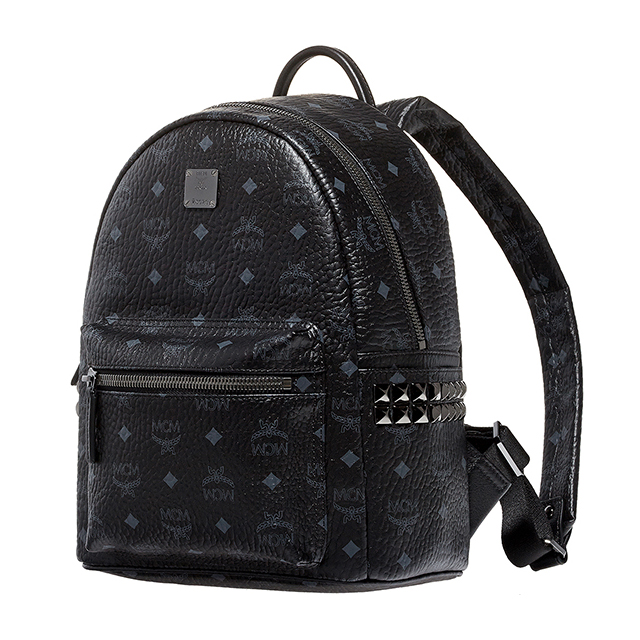 Mcm Luc S Size Korea Mini Studded Black Mens Las Bag Elegante Mmk5sve37 Bp Bk Bk001 Small Backpack Stark Stud Daypack