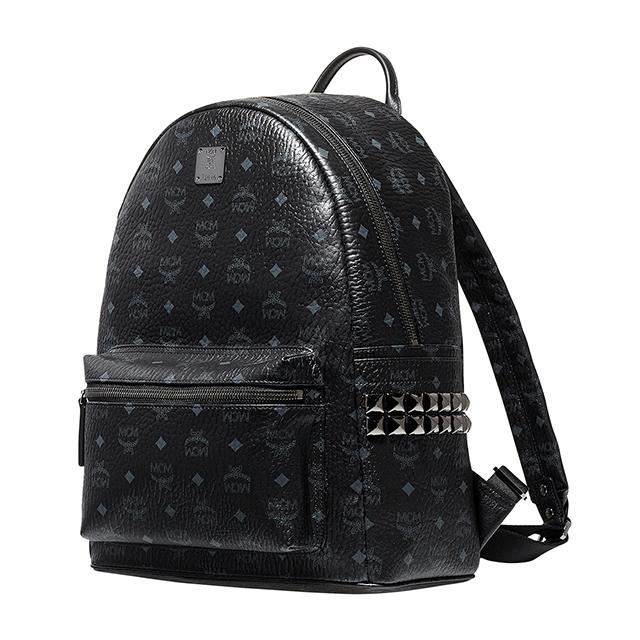 Mcm Luc Korea M Size Studded Black Mens Las Bag Elegante Mmk5sve38 Bp Bk Bk001 Medium Backpack Stark Stud Daypack