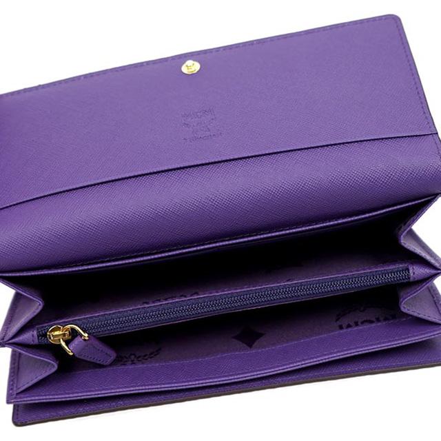 MCM MCM elegante Korea wallets wallet tri-fold wallet men's regular brand  ladies leather Leather