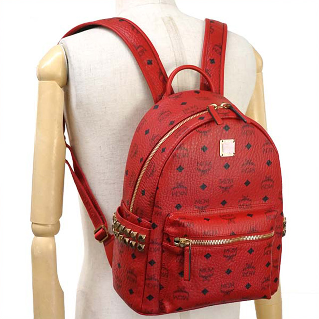 Stark Backpack Small Ruby Red