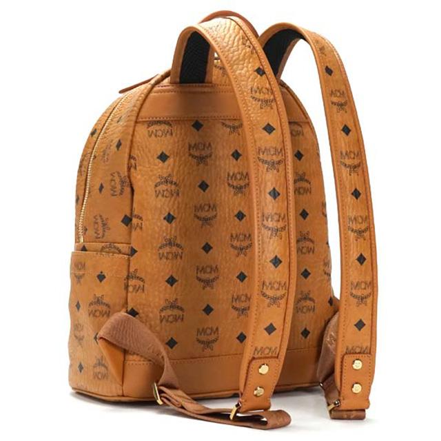 Mcm エムシーエム リュックサック Mmk6sve19 Small Stark Backpack スモール スターク バックパック S コニャック Cognac