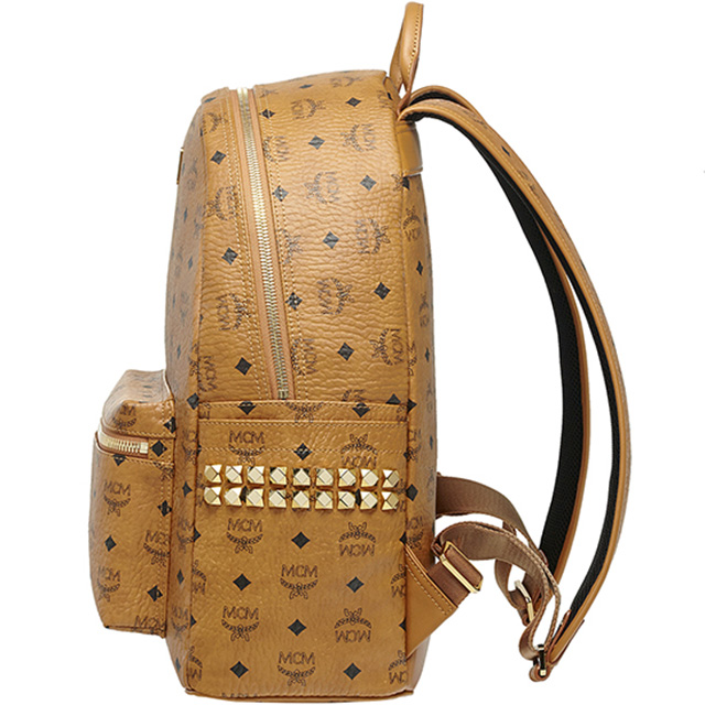 Mcm Stark Backpack Medium Cognac Women,mcm backpack price