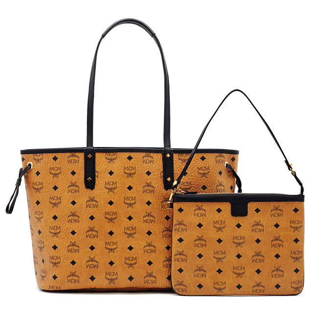 MCM MCM elegante bag reversible tote bag MWP6SVI38 SHOPPER PROJECT VISETOS REVERSIBLE  SHOPPER MEDIUM shoulder bag