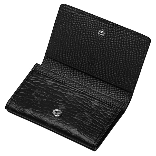 Salada bowl rakuten global market mcm mcm elegante card case mcm mcm elegante card case black leather business card holder black leather case wallet size reheart Gallery
