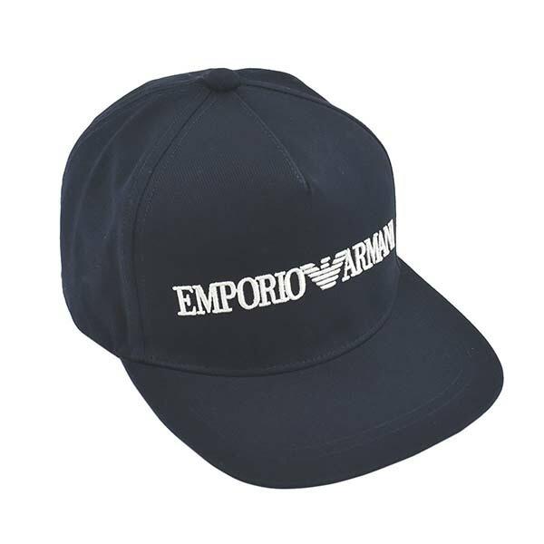エンポリオアルマーニ EMPORIO ARMANI キャップ 帽子 627507 0A525 00035 BASEBALL HAT ベースボール ハット NAVY ネイビー