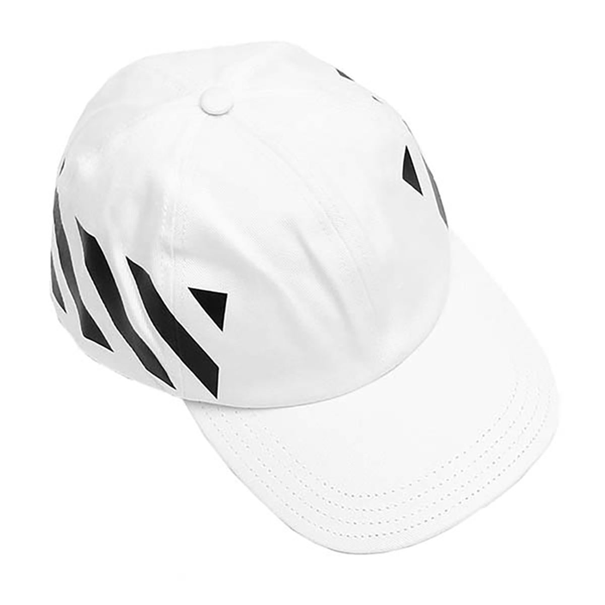 オフホワイト OFF-WHITE キャップ OMLB008E19400028 0110 メンズ ホワイト 帽子 ベースボールキャップ 野球帽 コットン 休日 散歩 お出かけ