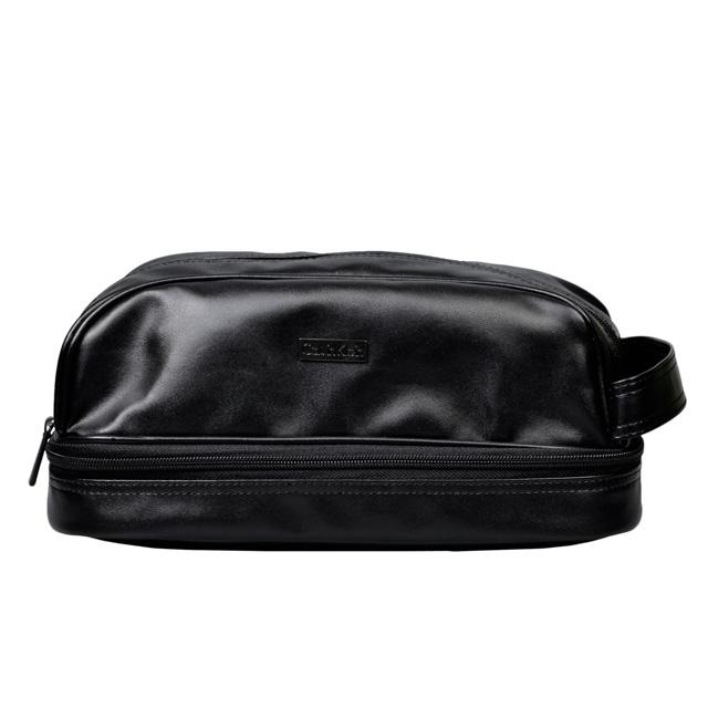 9ab38cf22d カルバン・クライン Calvin Klein セカンドバッグ トラベルポーチ レザー ポーチ メンズ ブラック BLK TOILETRY KIT