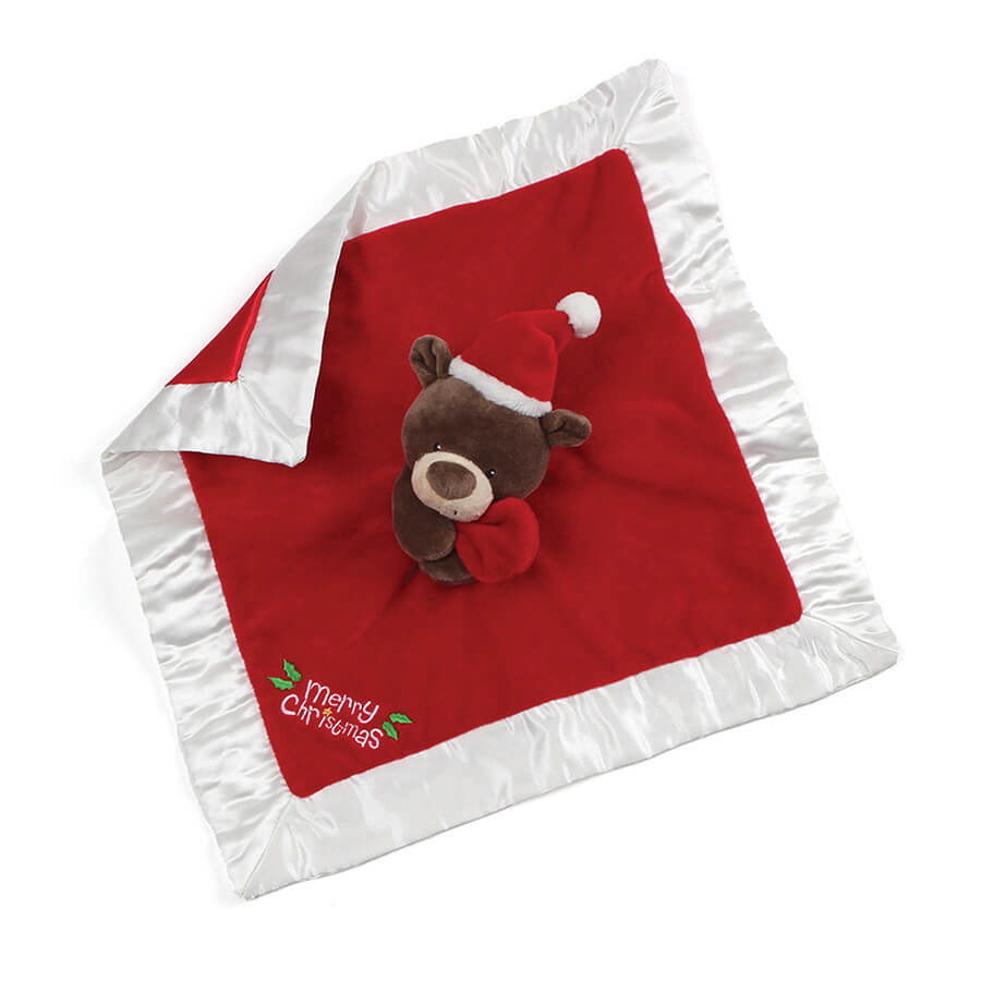Goods doll kids baby gift present including the ガンド GUND Santa base-up Ravi  blanket 4061086 teddy bear Christmas hat Santa Claus sewing is new