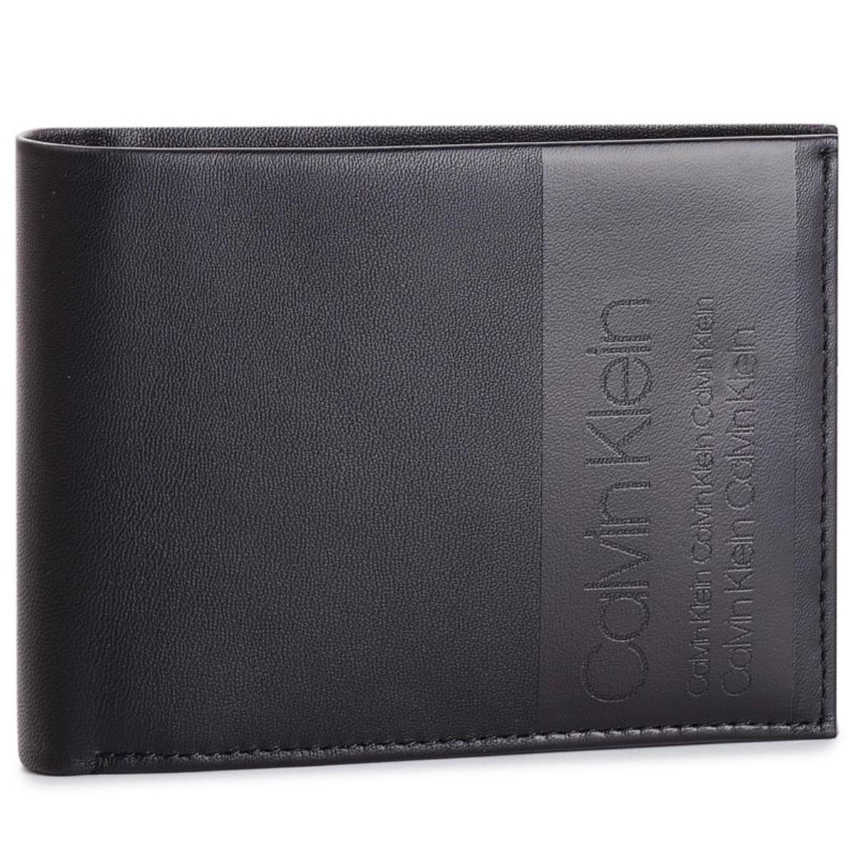 カルバンクライン Calvin Klein CK K50K504451 001 財布 二つ折り財布 折りたたみ財布 メンズ ブラック