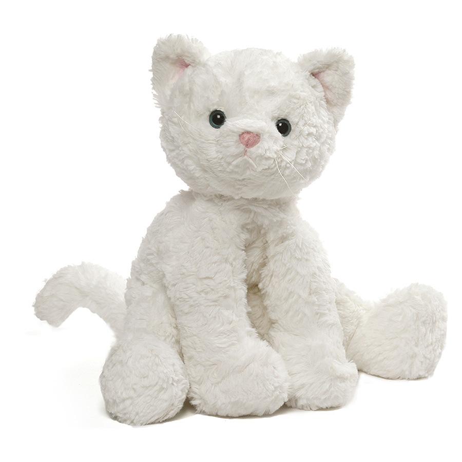 ガンド GUND コージー キャット L 4059964 ホワイト 猫 ネコ ぬいぐるみ アニマル 動物 人形 子供 キッズ ベビー プレゼント ギフト 新品