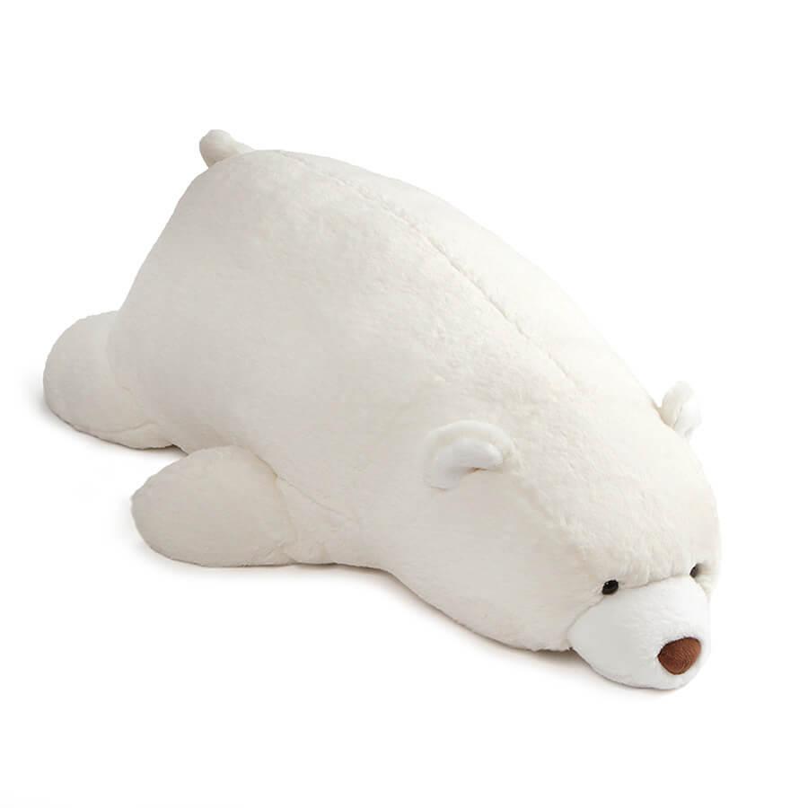 ガンド GUND スナッフル べア ホワイト 抱きまくら 4060782 テディベア 熊 くま ベアー ぬいぐるみ ビッグサイズ 人形 子供 キッズ ベビー プレゼント ギフト 新品