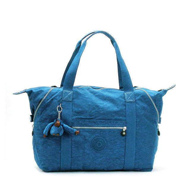 키플링 보스톤 가방 숄더백 여행 가방 레이디스 맨 즈 숄더 2WAY 블루 MITCHELL BLUE 가벼운 나일론 인기 브랜드