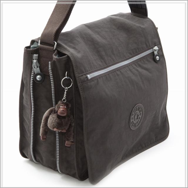 0fbed2baf49 kipling kipling shoulder bag (EXPRESSO BROWN) messenger bag lady men new  work sale