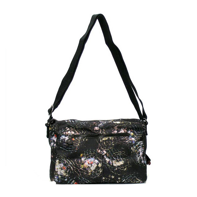 5c27a94f1d12 Kipling shoulder bags diagonal sauce bag diagonally over popular Kipling  RETH light ladies mens shoulder party print black nylon two-tier type 5