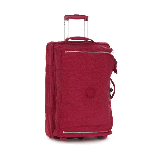 784a127424 Kipling carry case carry bag suitcase small ladies mens red travel bag  travel bag soft brand ...
