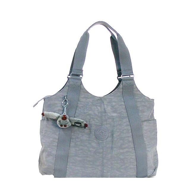 Kipling Shoulder Bag Tote New Brand Women S Basic Cicely Handbag K13338 811 Grey Fs2gm