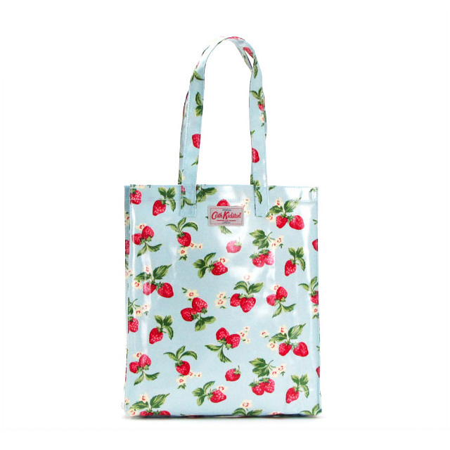 Cath Kidston Totes Book Bag Shoulder Handbag Strawberry