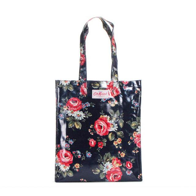 Cath Kidston Tote Bag Book Shoulder Handbag Kentish Rose