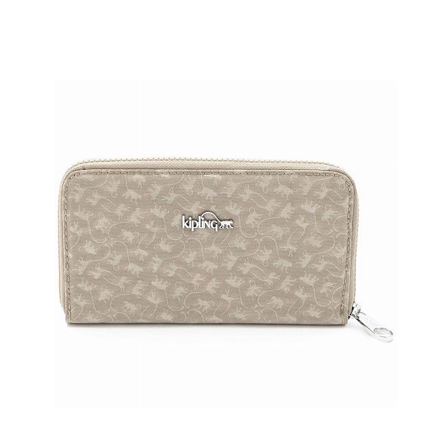 Kipling wallet long wallet ALVIS MM round fastener kipling long wallet Lady's men