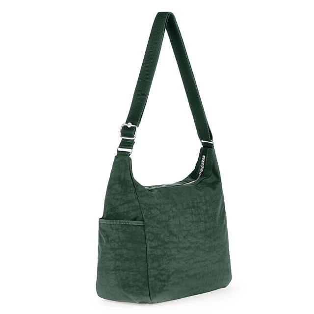 Kipling Shoulder Bag New Also Women S 2 Way Las Light Nylon K10623 11 Alenya Dark Green Internet Winter