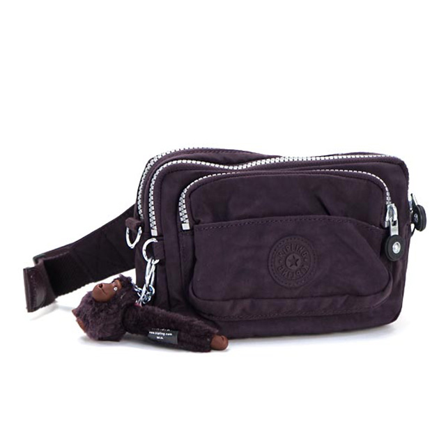 fc37c3689f Salada Bowl: Kipling kipling waist bag 2-way shoulder bag purple ...