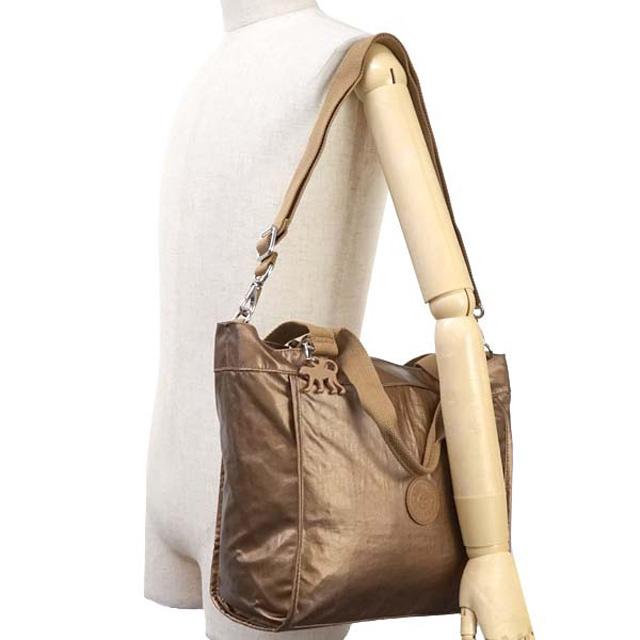 94b8e78d64 Kipling 2way tote bag Kipling K16640 21E NEW SHOPPER S also shoulder bag  handbag beige of metal BE