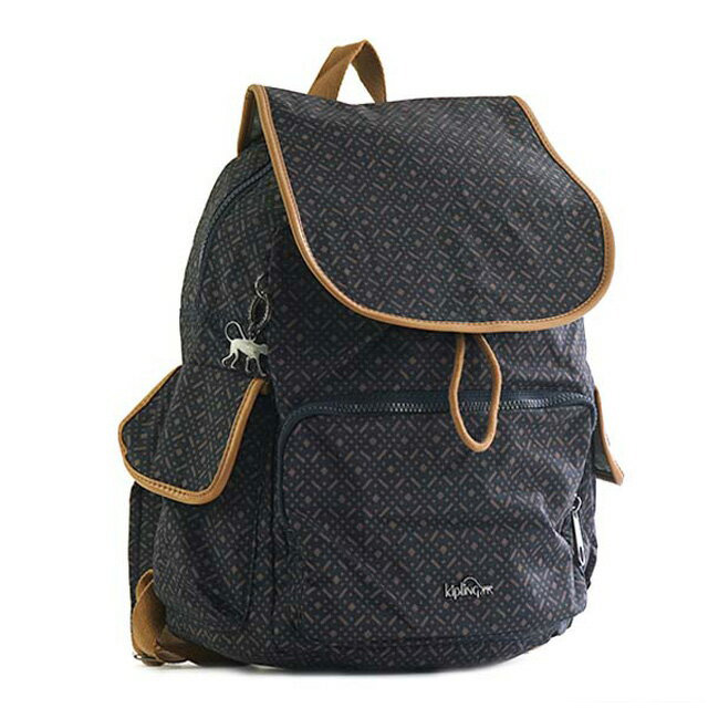 Kipling City Pack Backpack Blue Weave