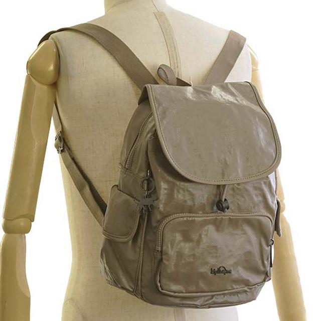 キプリング Kipling rucksack K00085 J41 CITY PACK S city pack S backpack LACQUER  SAND beige system 38f8d433d8