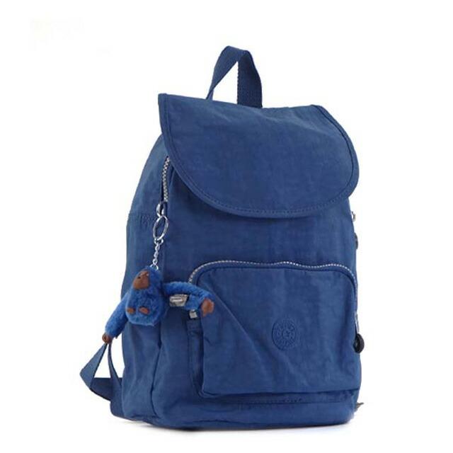 キプリング Kipling リュックサック K10256 10J CAMPANA カンパーナ バックパック COBALT BLUE ブルー