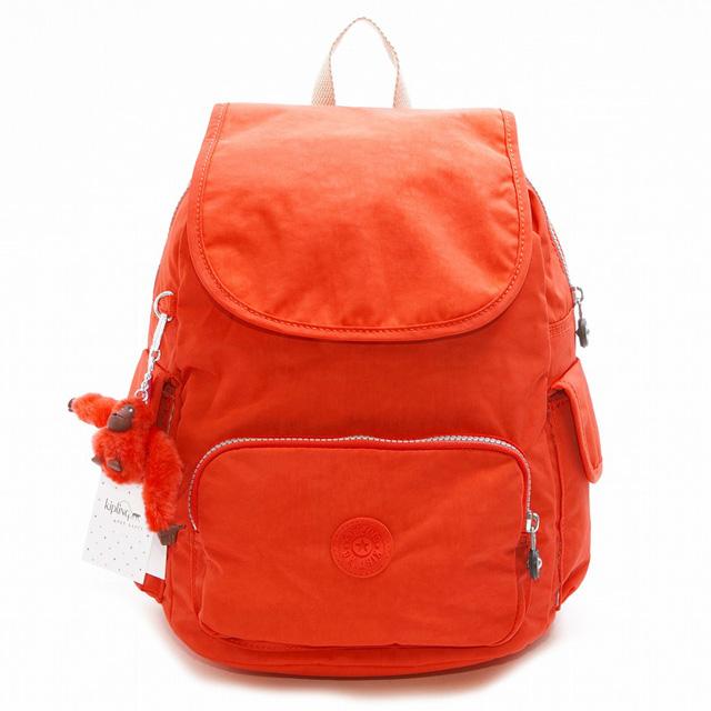 キプリング リュック KIPLING K15635 05W CITY PACK S リュックサック バックパック CORAL ROSE C コーラルローズ ピンクオレンジ系