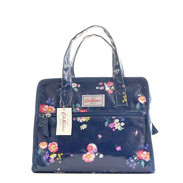 27011346b0 Cath Kidston Cath Kidston tote bag shoulder bag SMALL BOXY BAG UPDATE BUSBY  BUNCH flower pattern navy system multi-Lady s floral design present gift  outing ...