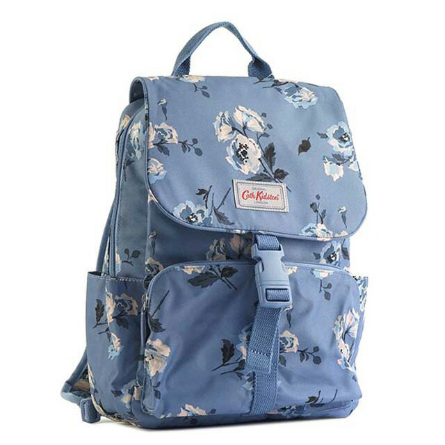 f581544e57 Cath Kidston Cath Kidston rucksack backpack BUCKLE BACKPACK ISLAND BUNCH  flower pattern blue system Lady s floral design present gift outing 757041