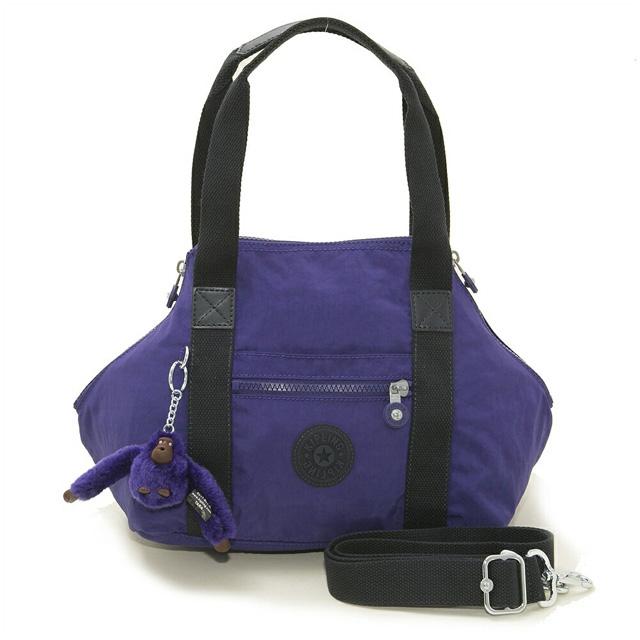 It is bag mini-Boston SUMMER PURPLE purple system at キプリング Kipling shoulder  bag ART MINI K01327 05Z art mini-2way bias 039df21e62557