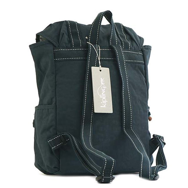 20955fb838e ... キプリング Kipling rucksack K02775 89W EXPERIENCE S experience S backpack  DEEP EMERALD C dark green system ...