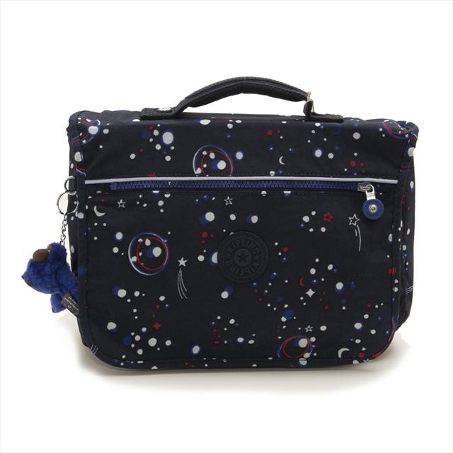 キプリング Kipling キッズ バックパック リュックサック NEW SCHOOL Galaxy Party ブルー系スペース柄マルチ K13571 38M