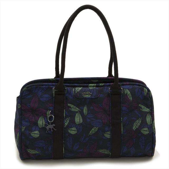 キプリング Kipling トートバッグ ショルダーバッグ BEX Orchid Garden ブルー系フラワー柄マルチ K23474 P80