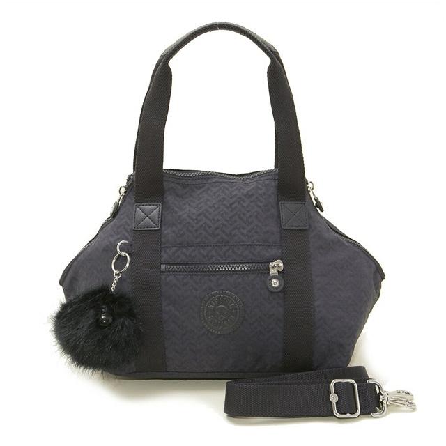 Of bag NIGHT BLUE EMB navy origin at キプリング Kipling shoulder bag K15410 L12  ART MINI art mini-2way Boston bag bias 8eee4547d3db7