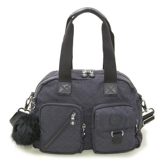 Of bag NIGHT BLUE EMB navy origin at キプリング Kipling shoulder bag K18217 L12  DEFEA D Fear 2way mini-Boston bag bias bd44583454be5