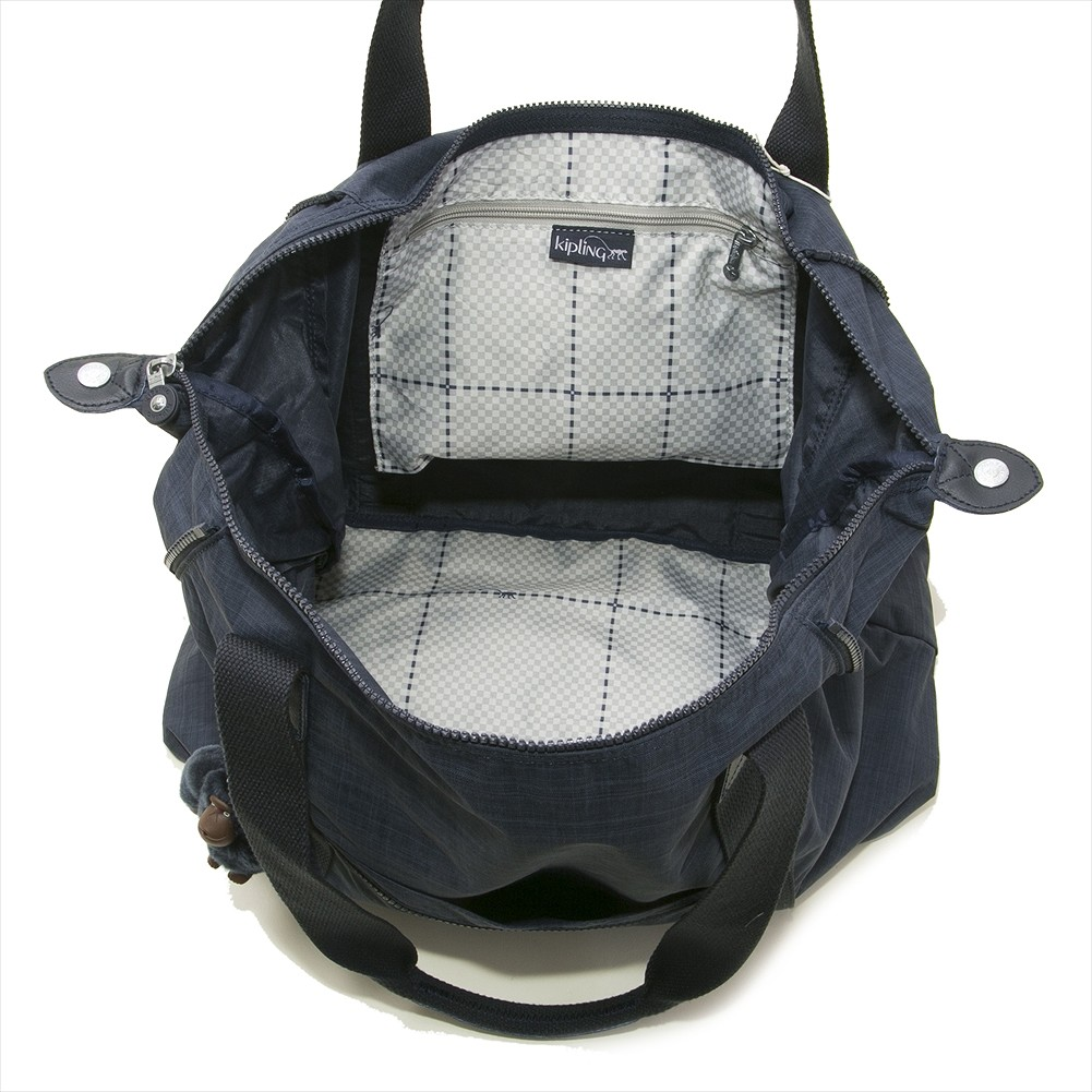 400a19efd7 ... キプリング Kipling Boston bag K25748 02 U ART M art M shoulder bag DAZZ TRUE  BLUE