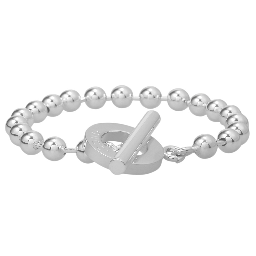 77f9f6f1a ... It is new on Gucci GUCCI ball chain lariat bracelet silver 010294 09840  0006 sterling silver ...