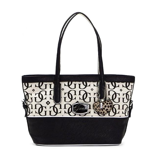 Guess Handbag Tote Bag Lady S Brand New Work Chaela Small Carryall