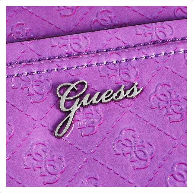 63f185d1663 Diagonally over the shoulder bag bag diagonally over handbags 2-WAY women s  brand Orchid purple new popular sale guess guess fs2gm