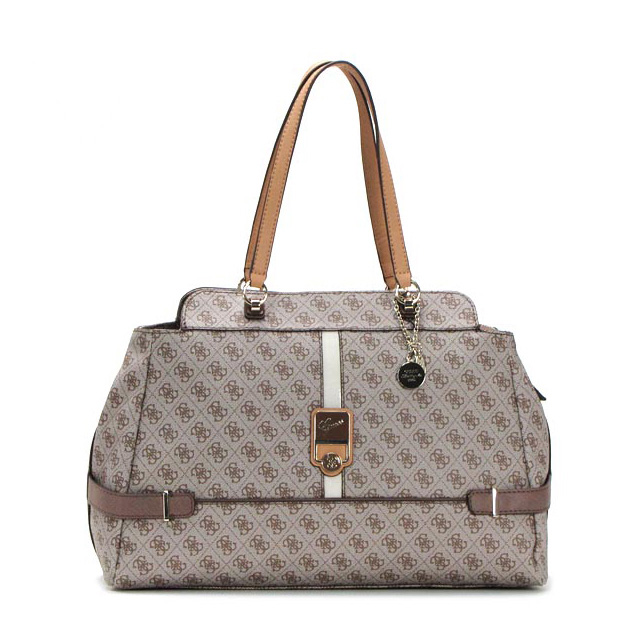 Shoulder bag tote bag commuting business four circle brown shawl Lady s  brand new work popularity sale guess guess b3b5ab146d1ed