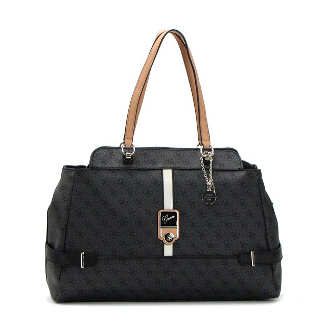 Shoulder bag tote bag commuter business formal black shawl women s brand  new popular sale guess guess fs2gm 657ecb16e45b3