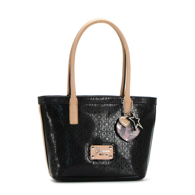 Mini Shoulder Thoth Handbag Black Heart Star Studs Lady S Brand New Work Pority Guess Reiko Fs3gm With The Tote Bag